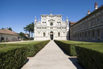 Certosa di Pavia. Italian monastery