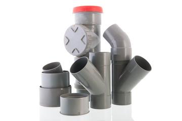 Used PVC tube
