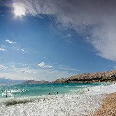 Beach at Baska