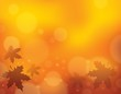 Autumn theme background 1