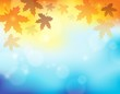 Autumn theme background 2