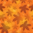 Leafy seamless background 4