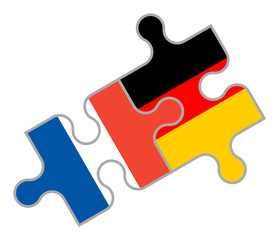 Französisch-Deutsches Puzzle