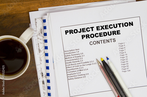 Projct execution pocedure