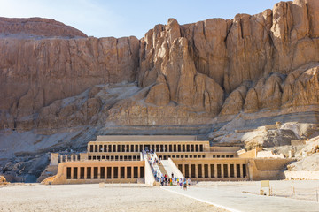 Memorial Temple of Hatshepsut . Luxor, Egypt