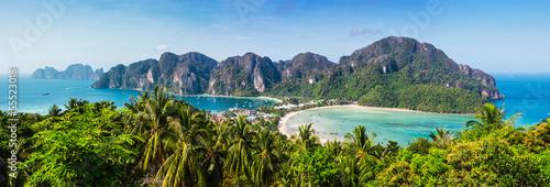 Poster Beautiful view of Phi Phi island