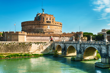 Roma, Sant Angelo Castle and Bridge