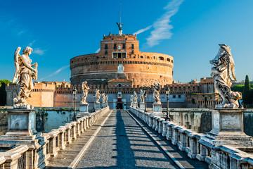 Roma, Sant Angelo Castle and Bridge