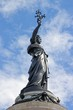 La république française portant le laurier de la victoire