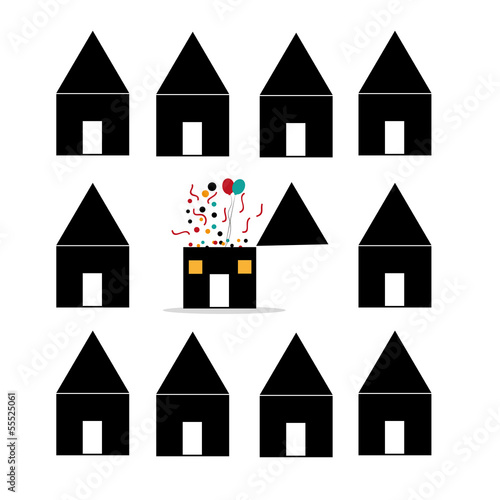 different house