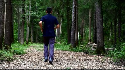 Boy running  in the park episode 1