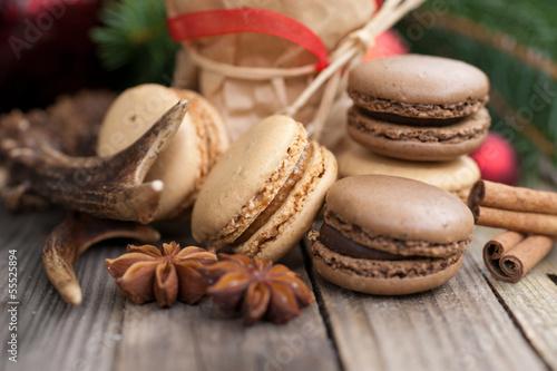 Weihnachtszeit, Macarons