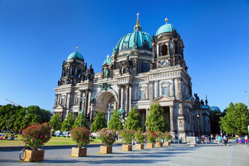 Berlin Cathedral. Berliner Dom, Germany