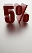 Fünf Prozent