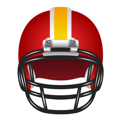 Football helmet.