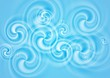 Abstract elegant swirl vector design