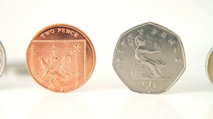 Balanced UK  Currency Coins