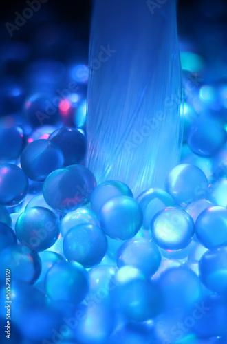 Colorful fiber optical.