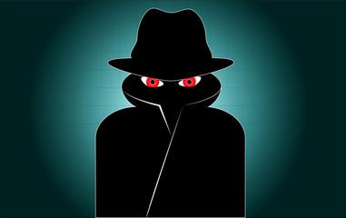 Hacker Spion Überwachung Sicherheit