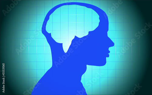 Medical Brain Human Background