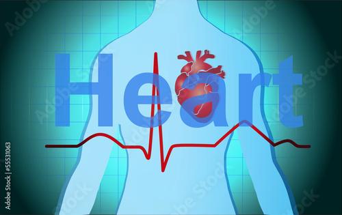 Medical Health Heart Background