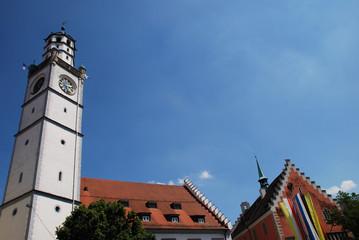 Ravensburg Rathaus Blaserturm Waaghaus Rutenfest