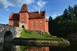Cervena Lhota Castle in Czech Republic