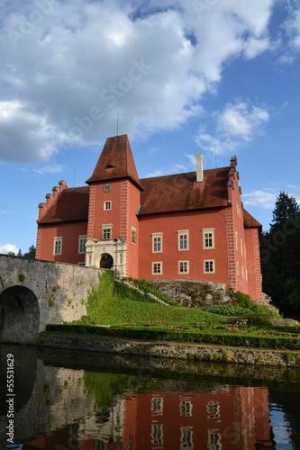 Cervena Lhota Castle in Czech Republic