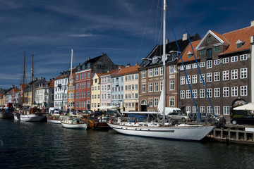 The Colorful Buildings of Nyhavn in Copenhagen