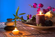 Popurrí, bowl, dried flowers, candles , cinnamon