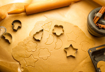 Preparing to do gingerbread cookies for Christmas