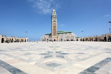 Great Mosque Hassan II in Casablanca, Morocco