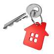 Red house key - 55535611