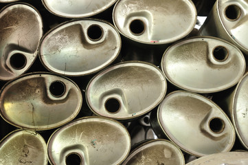 Background of many exhaust pipes
