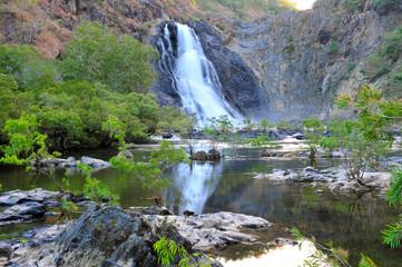 bloomfield falls, cooktown, queensland, australia