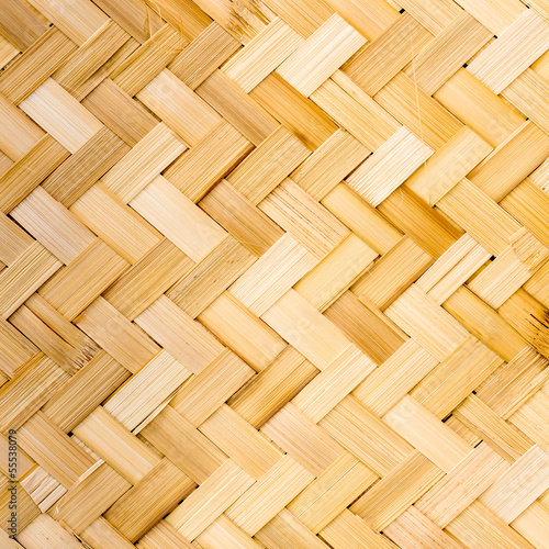 Native Thai style bamboo weave