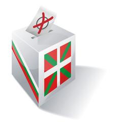 Wahlbox Baskenland