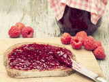 Raspberry Fruit Jam