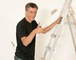Heimwerker beim Malern