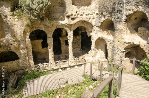 Cave Tombs in Seleukeia Pieria, Antakya, Turkey