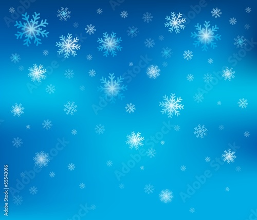 Snowflake theme background 2