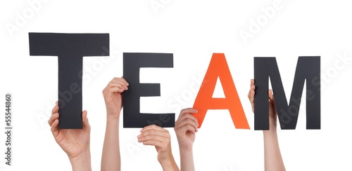 People Holding Team