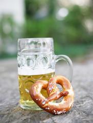 Bier und Brezen