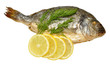 Oven Baked Sea Bream With Lemons