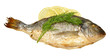 Oven Baked Sea Bream With Lemon