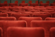red theater seates