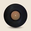 Realistic vintage record