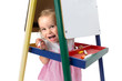 Cheerfully Playful Little Girl