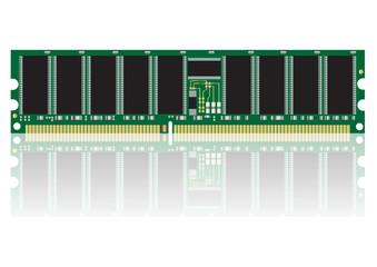 computer ram vector images