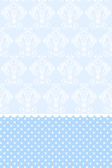 Vector baby blue wallpaper